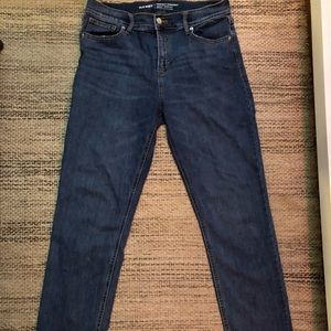 NWOT Sz 8 Old Navy Power Straight Mid rise Jeans